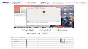 light intensity data logger light data logger javascript simulation applet html5 open