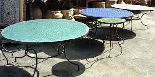 outdoor mosaic accent table outdoor mosaic tables mosaic tile table sonoma outdoors mosaic