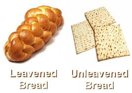 unleavened bread for passover was leavened or unleavened bread used in the last supper and