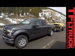 ford f150 ecoboost towing review 2015 ford f 150 2 7l ecoboost takes on the grueling ike gauntlet