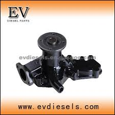 nissan engine parts fe6 fd6 water pump oem number nissan water