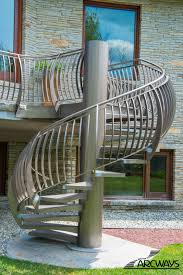 Wooden Stairs Design Outdoor Spiral Staircase Outdoor Contemporary 15 Staircases That Pave The