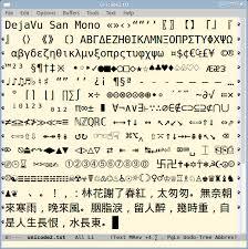 best unicode fonts for programer