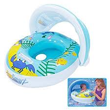 bouée siège pour bébé reelva bouée bateau gonflable pour bébé avec siège flotteur et