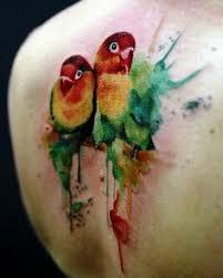 parrot tattoo by vincent zattera best tattoos pinterest