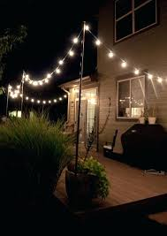 Patio Lights Walmart Outdoor Globe String Lights Walmart Ewakurek