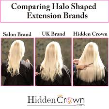 best hair extension brand crown halo shaped hair extensions comparison crown