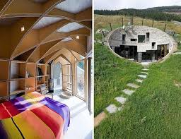 modern underground home plans swiss mountain bunkers mansion house