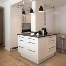 cuisine au milieu de la cuisine avec poteau au milieu 4 id es de design suezl com