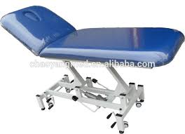 Physical Therapy Treatment Tables by Physical Therapy Equipment 2 Section Hi Low Hydraulic Treatment