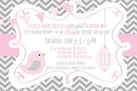 bird baby shower bird baby shower invitation girl invitation bird baby shower