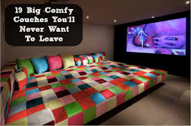 Most Comfortable Couches Big Comfy Couches You U0027ll Never Want To Leave Diy Cozy Home