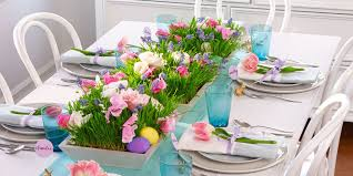 Beautiful Easter table decorations Diy Land