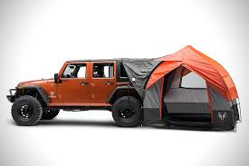 camping jeep wrangler rightline gear jeep tent hiconsumption
