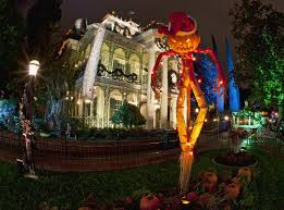 When Do Christmas Decorations Go Up At Disneyland Disneyland Halloween 2017 Guide Rides Food Decorations