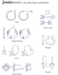 different types of earrings bracelet clasp types search pinteres