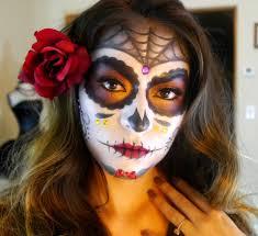sugar skull makeup tutorial dia de los muertos 2016 you