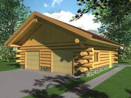 cabin garage plans plans package garage and shed log home builders association
