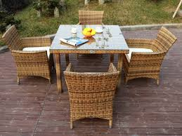 all weather dining table all weather plastic rattan garden dining sets with chair and table
