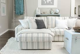 Striped Slipcovers For Sofas My New Kivik Slipcover And A Comfort Works Giveaway Jenna Sue