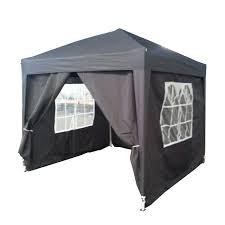 Steel Pop Up Gazebo Waterproof by New Waterproof Pop Up Gazebo 2 5 X 2 5m Canopy Awning Folding