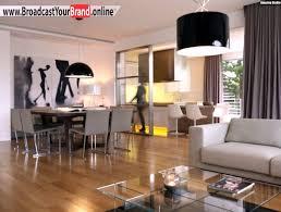 Wohnzimmer 20 Qm Einrichten Wohnzimmer Küche In Einem Glas Couchtisch Essbereich Holzboden