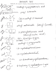 dr starkey u0027s chm 201 elements of organic chemistry
