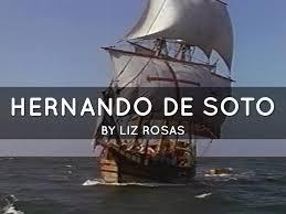 Hernando De Soto Route Map by Hernando De Soto By Ms De Marco