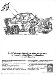 old volkswagen drawing archive gallery classic car advertisements from the pages of