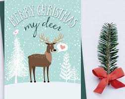 deer card to husband etsy