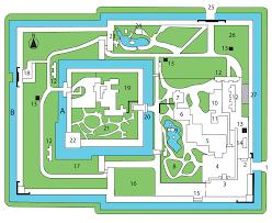file nijo castle plan svg wikimedia commons