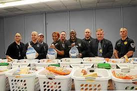 trenton distribute free thanksgiving dinner baskets