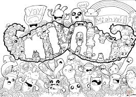 mustache doodle coloring page free printable coloring pages