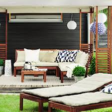 canape d exterieur design mobilier de jardin et décoration d extérieur jardin ikea