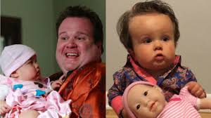 eric stonestreet has a baby look alike who dressed up as his