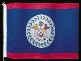 Belize Flag Geography Of The Country Of Belize World Atlas