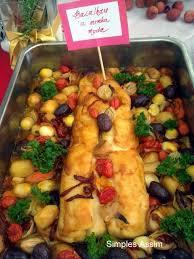 comi de cuisine especial de natal o melhor bacalhau que já comi simples assim