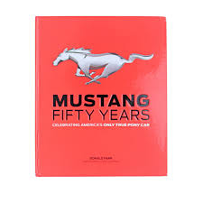 motorbooks 200364 mustang hardcover book coffee table fifty years