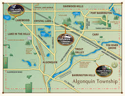 Illinois Township Map by Algonquin Township U2013 Founded In 1850