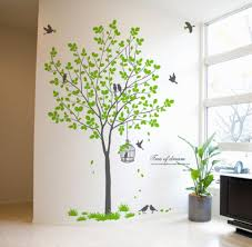 sticker on wall decor 50 beautiful designs of wall stickers wall sticker on wall decor birds birdcage tree wall decor decals wallstickery best set