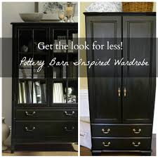 Pottery Barn Inspired Furniture Pottery Barn Inspired Wardrobe Get The Look For Less