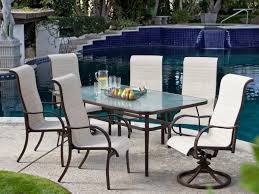 Replacement Glass Table Tops For Patio Furniture by Patio 63 Decoration In Courtyard Creations Patio Furniture