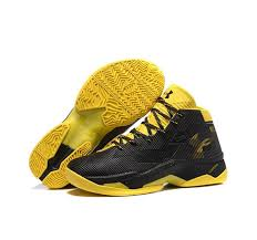armour stephen curry 2 5 shoes black yellow shoes