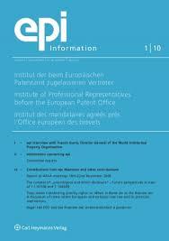 bureau des contributions directes when in rome do as the romans do european patent institute