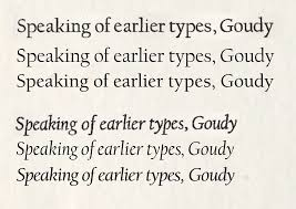 Best Font For Resume Garamond by List Of Typefaces Designed By Frederic Goudy Wikipedia