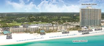 Panama City Beach Florida Map by Meeting Your Every Need Boardwalk Beach Resort