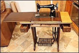Antique Singer Sewing Machine Table Singer 66 And Singer 99 Oldsingersewingmachineblog