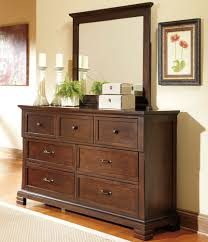 Decorating Bedroom Dresser Decorating Ideas Bedroom Dressers With Mirror And Photo Frame