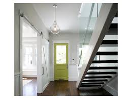 sliding barn doors contemporary entry feldman architecture inc