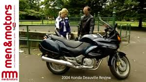 honda deauville 2004 honda deauville review youtube